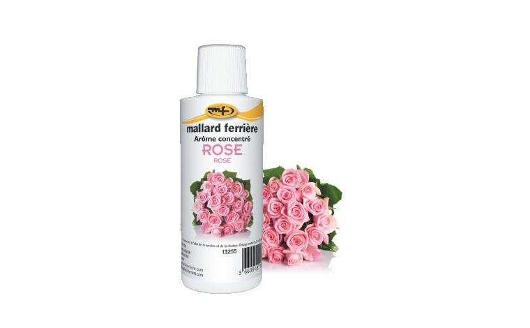 Arôme alimentaire concentré Rose 125ml