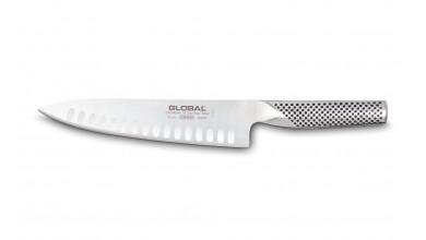 Couteau de cuisine 20 cm (lame alvéolée) G61