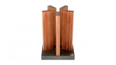 Porte couteaux KAI granit/bois rouge STH-1