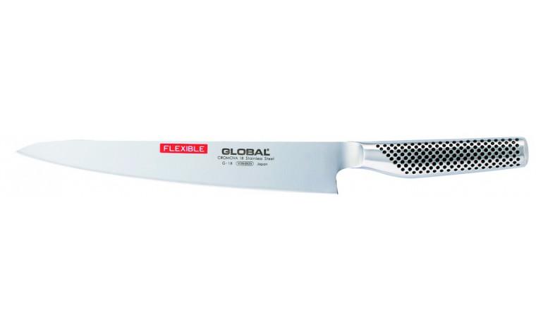 Couteau filet de poisson  24 cm (lame flexible) G18