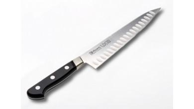 Couteau de Cuisine Japonais 762 - lame alvéolée 21 cm