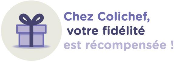 programme de fidélité  sur www.colichef.fr, cumulez des points pour tous vos achats d'ustensiles de cuisine