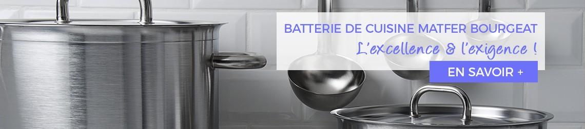 batterie de cuisine Matfer Bourgeat