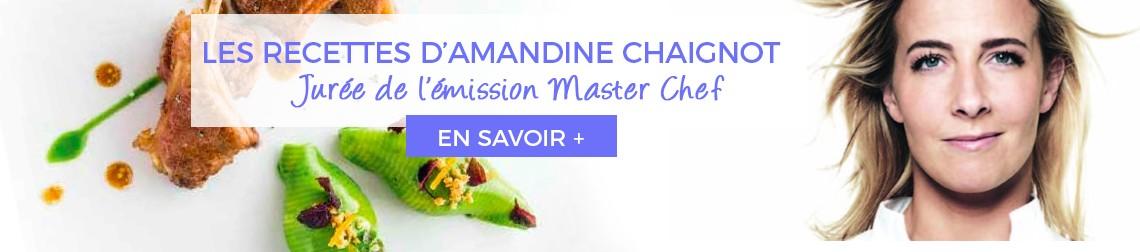Livre de recette Amandine Chaignot