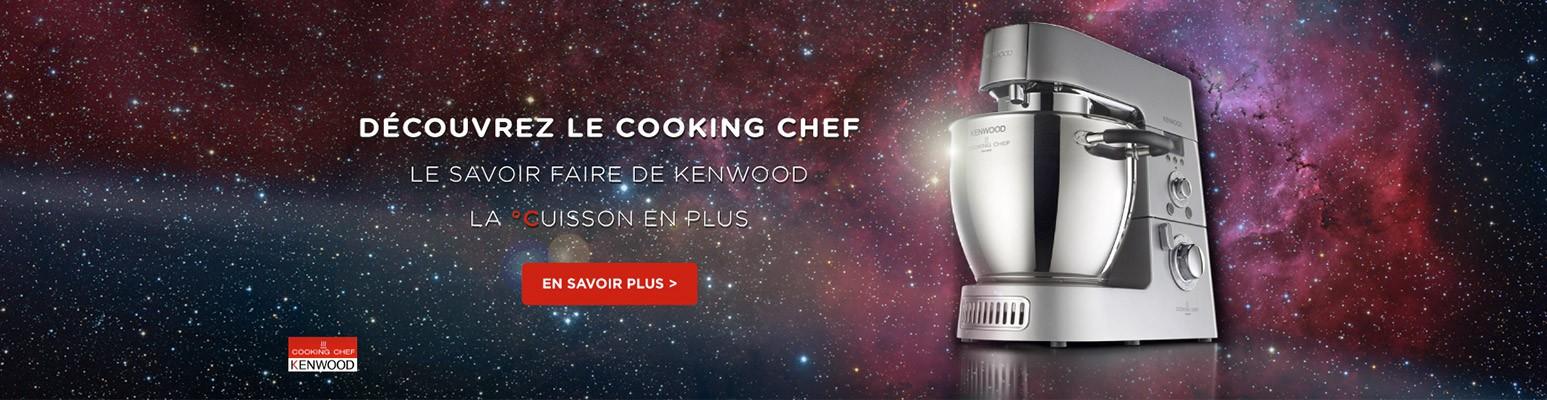 Le savoir faire de Kenwood, la cuisson en plus