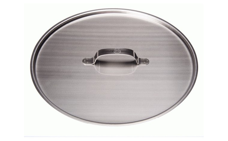 Stainless bucket lid