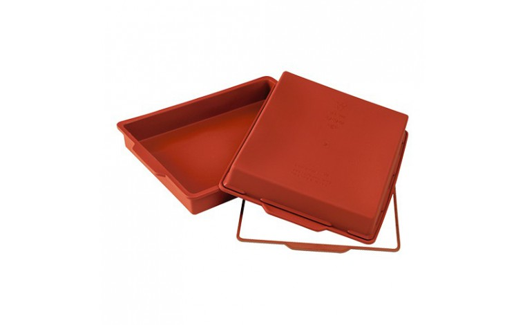 Rectangular silicone mould