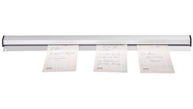 Porte fiche aluminium 92 cm