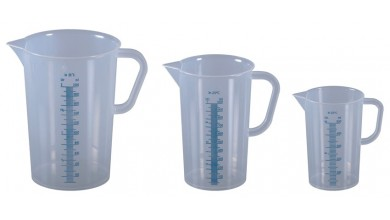 2 litre plastic graduated measurement