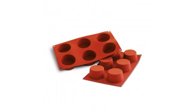 Silicone mould 6 muffins