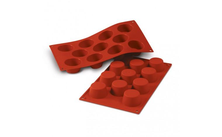 Moule silicone 11 mini muffins