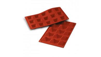Silicone mold 15 pyramids