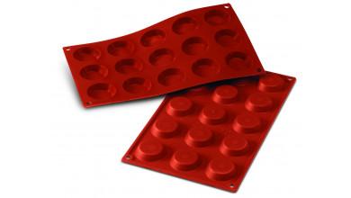 Moule silicone 15 mini tartelettes