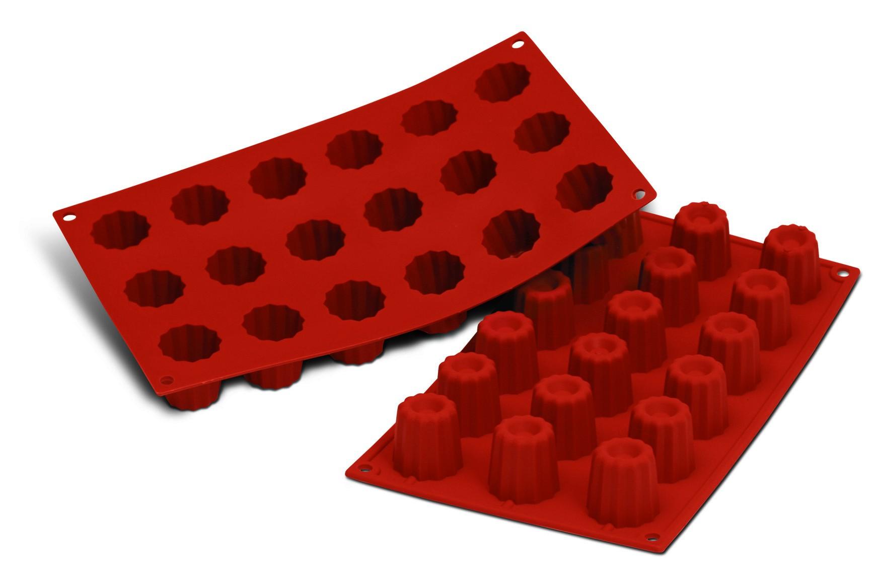 moule silicone 18 mini cannel s bordelais colichef. Black Bedroom Furniture Sets. Home Design Ideas