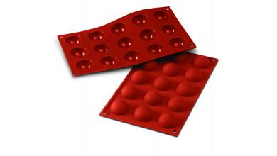 Moule silicone 15 demi sphères