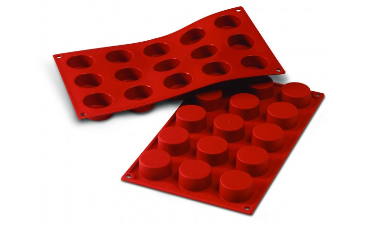 Silicone mould 15 small round ovens