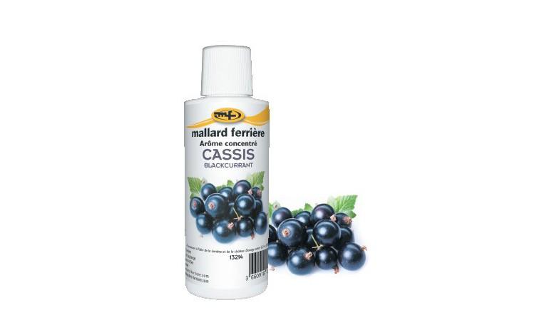 Arôme alimentaire concentré Cassis 125ml