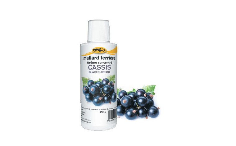 Concentrated food aroma Cassis 125ml