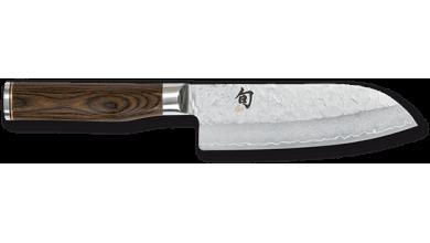 Kai Tim Malzer petit couteau santoku damas 14 cm (TDM-1727)