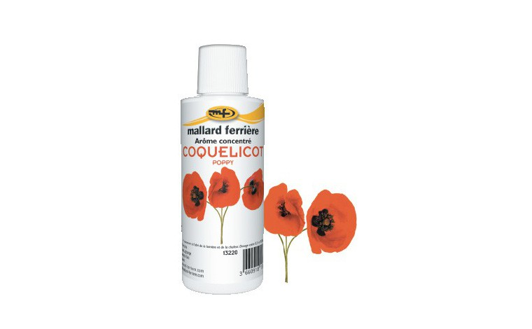 Concentrated food aroma Coquelicot 125ml
