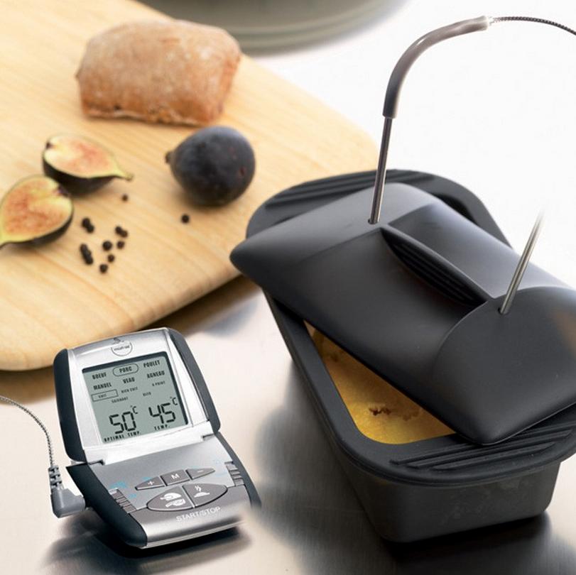 Thermom tre four mastrad avec sonde colichef for Thermometre de cuisine avec sonde