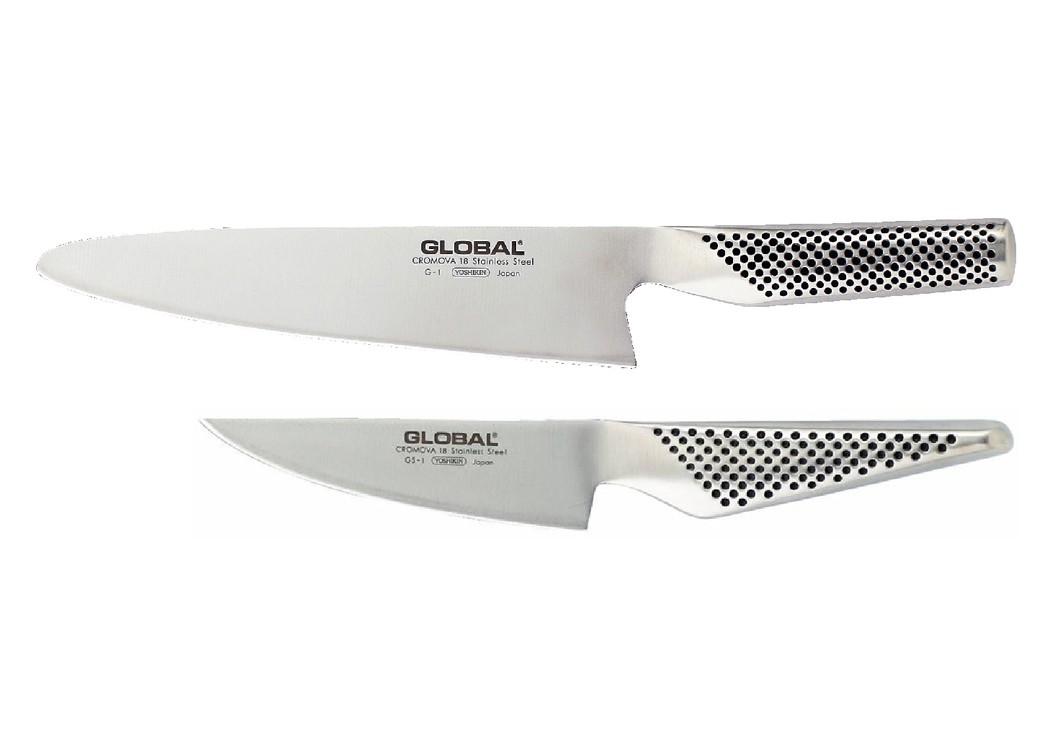 Set 2 couteaux global colichef - Couteaux de cuisine global ...