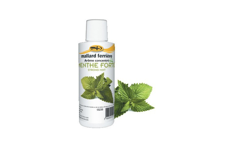 Concentrated food aroma Strong mint 125ml