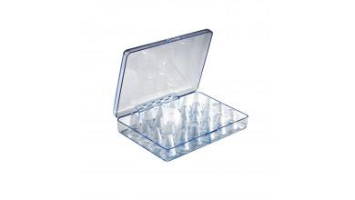 Boîte de 23 douilles décor interchangeables en polycarbonate