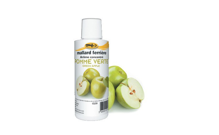 Concentrated food aroma Apple Green 125ml