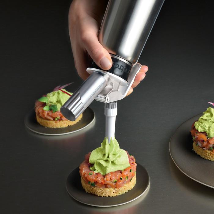 Siphon inox mastrad 0 50 litre colichef for Prix syphon cuisine