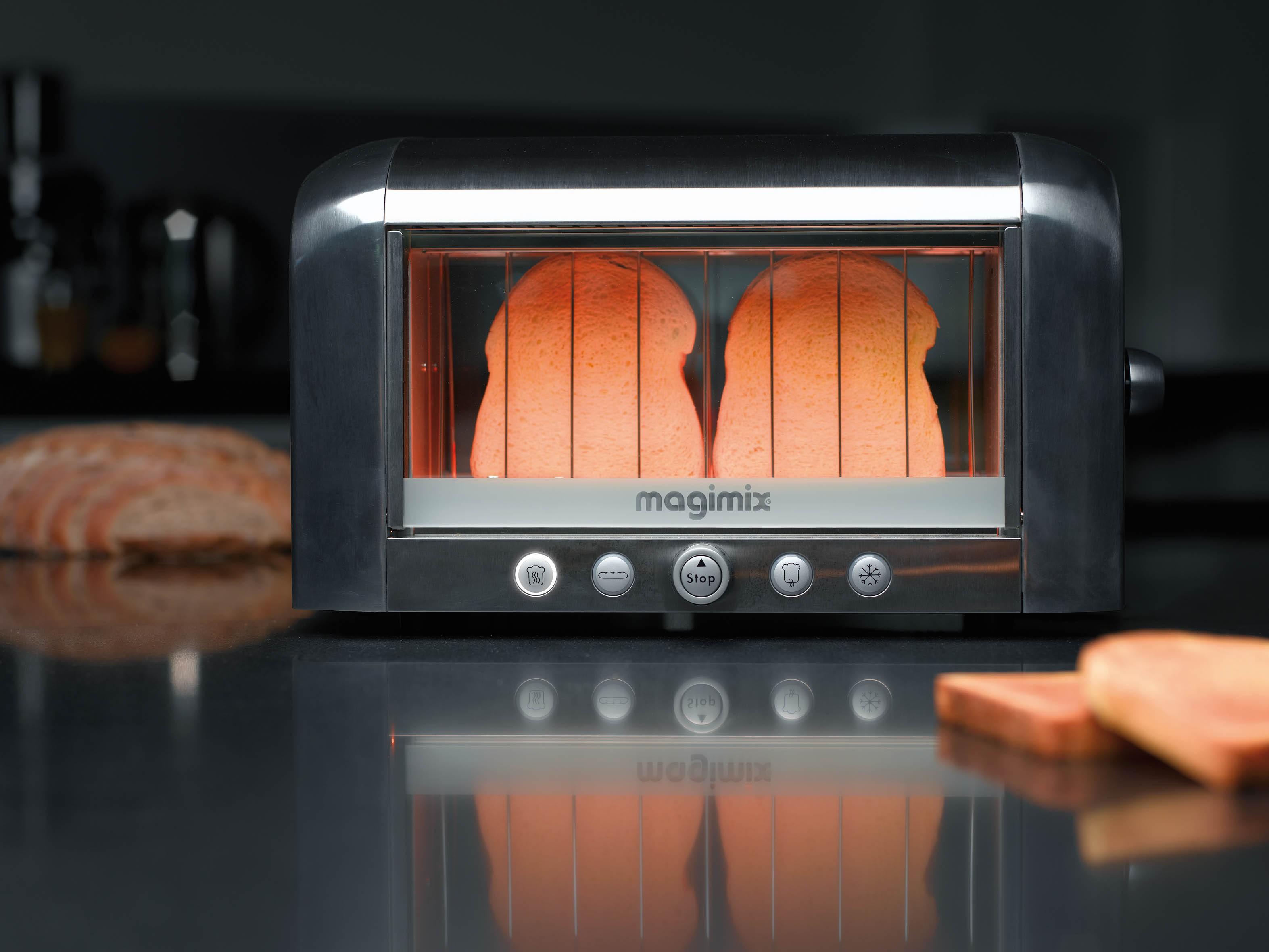 toaster vision noir magimix. Black Bedroom Furniture Sets. Home Design Ideas