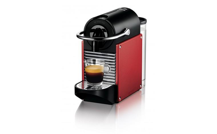 Nespresso Pixie rouge métal Magimix
