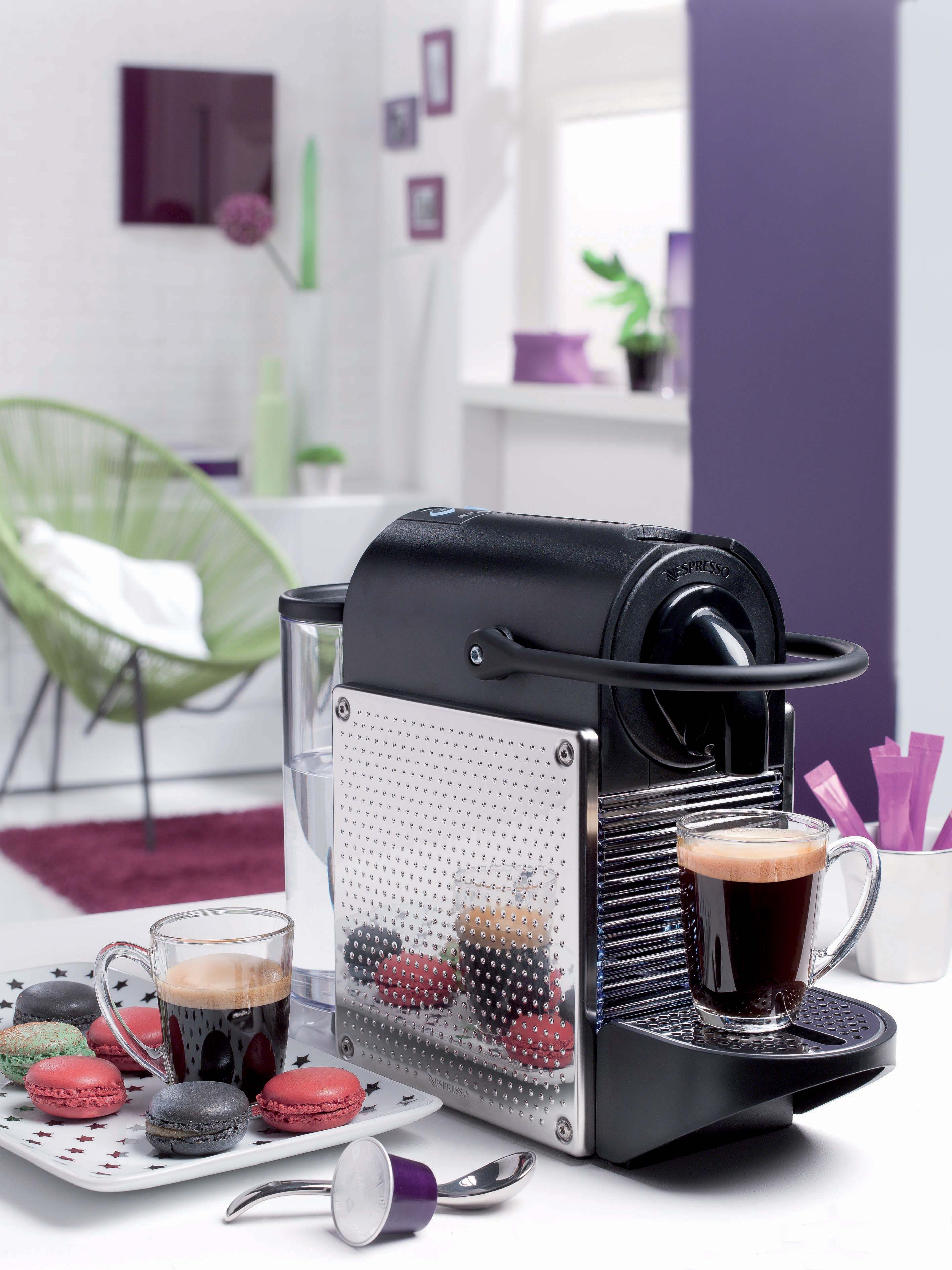 how to turn on nespresso magimix