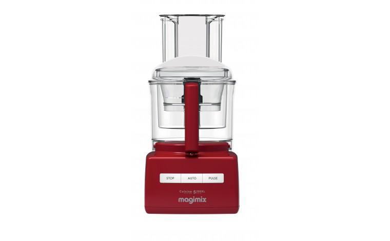 Robot multifonction 5200XL premium rouge Magimix