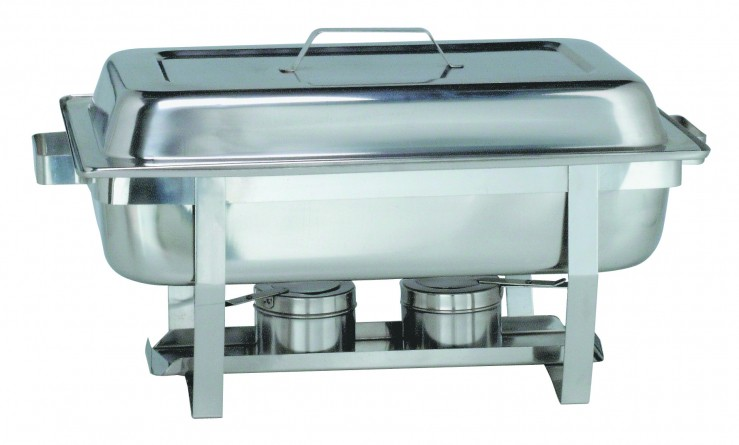 Chafing dish inox colichef for Plat en inox professionnel