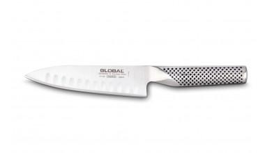 Couteau de cuisine 16 cm (lame alvéolée) G63