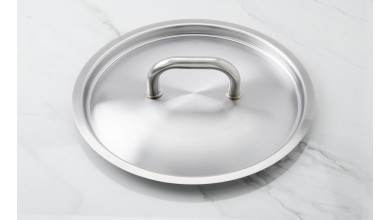 Couvercle inox diamètre 28 cm
