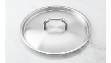 Couvercle inox diamètre 32 cm