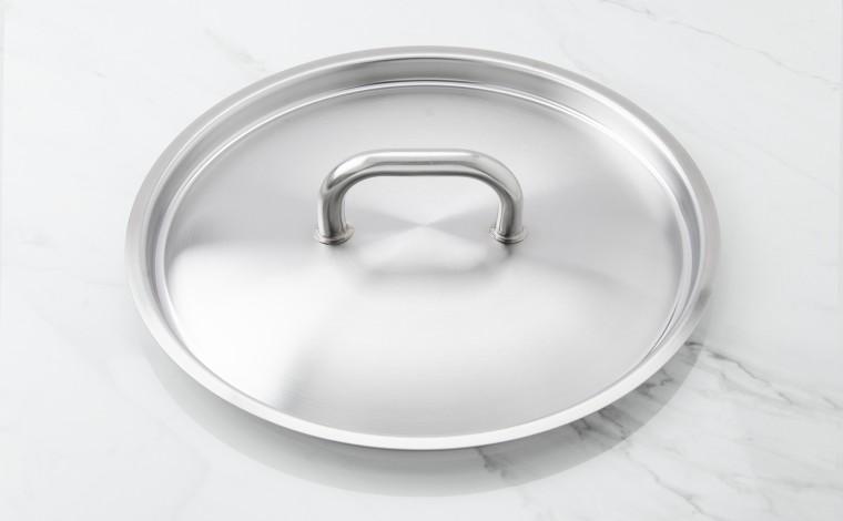 32 cm diameter stainless steel lid