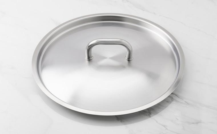 36 cm diameter stainless steel lid