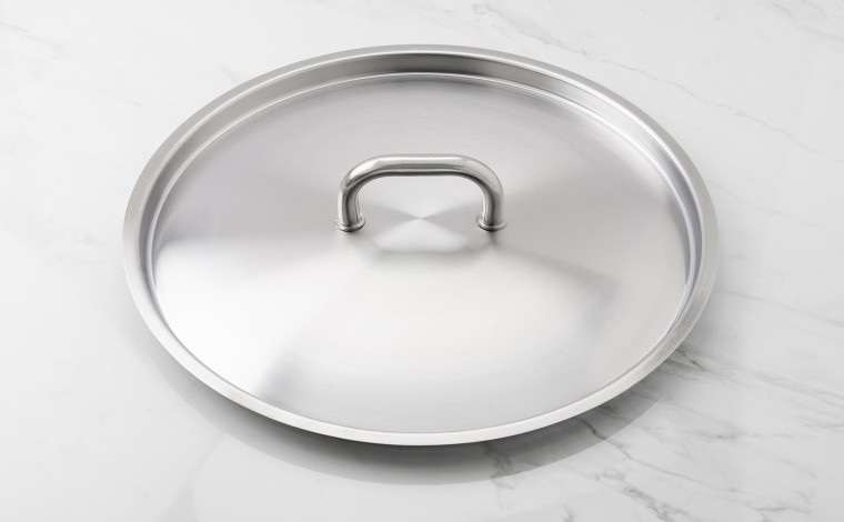40 cm diameter stainless steel lid
