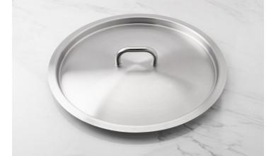 45 cm diameter stainless steel lid