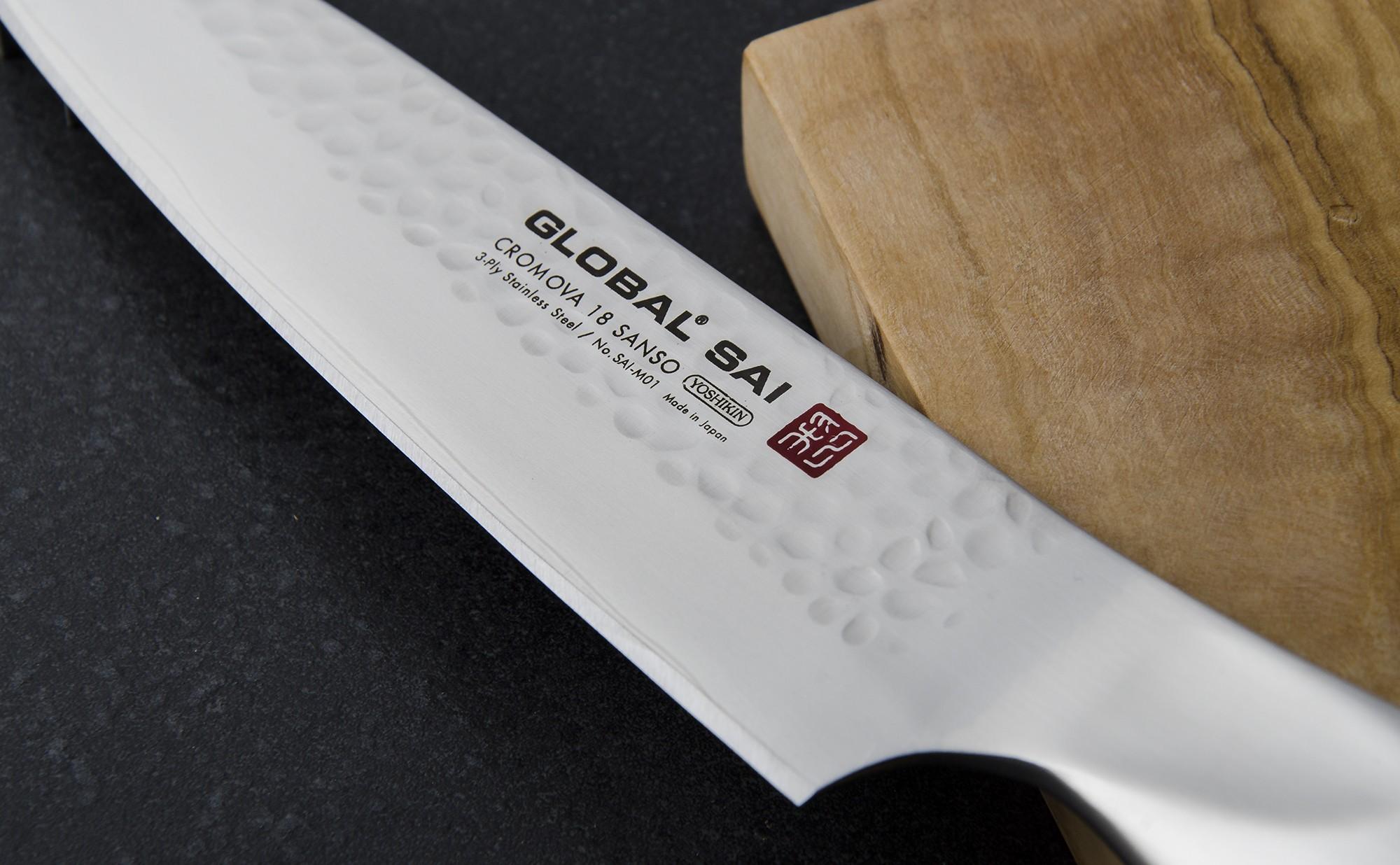 Couteau De Cuisine Japonais 14 Cm Global Sai M01 Global Colichef Fr