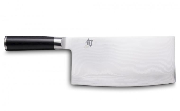 """KAI Shun DM-0712 """"Chinese type"""" kitchen knife damask 18 cm"""