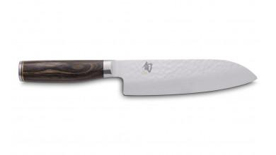 Kai Tim Malzer damask santoku knife 18 cm (TDM-1702)
