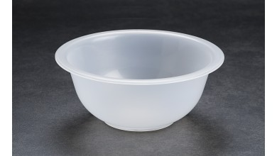 Half-round polypropylene basin 19 cm