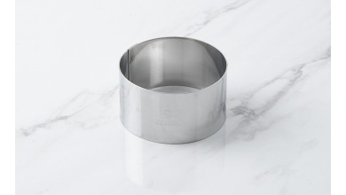 Foam stainless steel circle - Diameter 8 cm