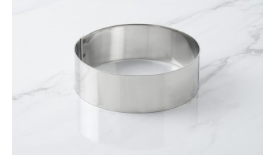 Foam stainless steel circle - Diameter 12 cm