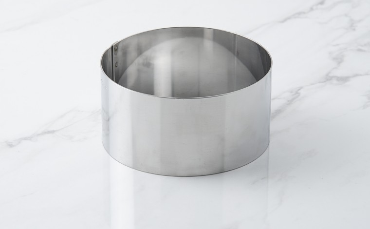 Cercle inox à vacherin - Diamètre 12 cm