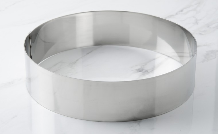 Stainless cowin circle - Diameter 24 cm